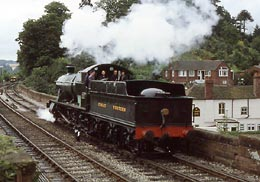 2857 returns to  steam 1985